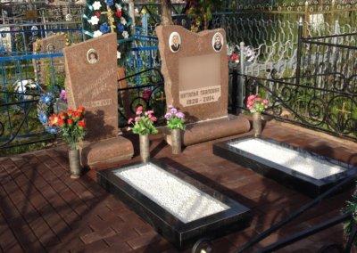 Благоустройство захоронения в Можайске
