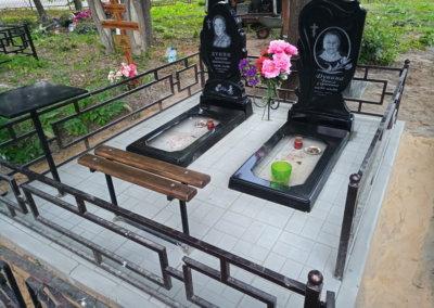 Плитка на могилу 2