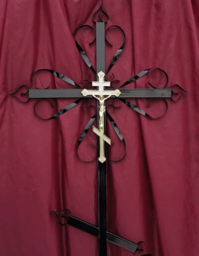 Крест на могилу сварной