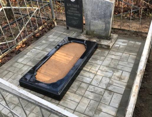 плитка на могилу можайск