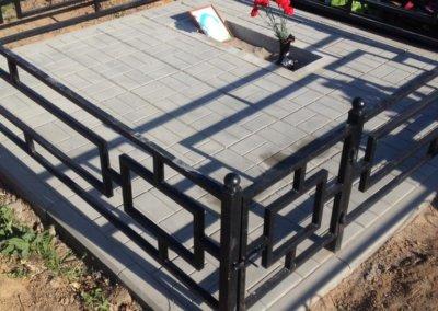 Плитка на могилу 1